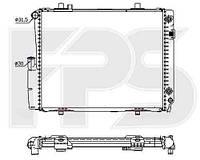 Радіатор охолодження автомобільний основний MERCEDES 190 82-93 (W201)