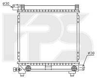 Радіатор охолодження автомобільний основний MERCEDES 124 84-96 (E-CLASS)/190 82-93 (W201)