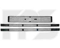 Решетки радиатора средняя+средняя+нижняя (3 шт) 96- для Iveco Daily 1989-00