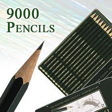 Чернографитные карандаши Castell 9000 и Castell 9000 Jumbo