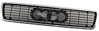 Решетка радиатора хром. -черн для Audi 80/90 1991-94