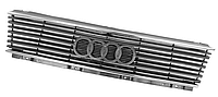 Решетка радиатора с хром. молдингом для Audi 100/200 1982-91