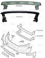 Шина бампера передняя нижняя (стальная) для Citroen Jumpy 2007-