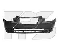 Бампер передний черный без отв. под п/тум Kia Picanto 2004-08