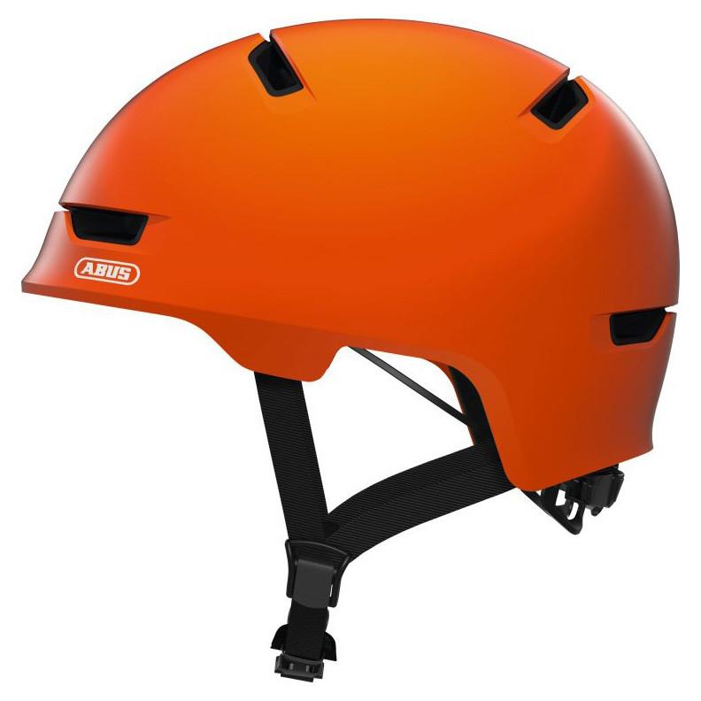 Шолом велосипедний ABUS SCRAPER 3.0 L 57-62 Signal Orange