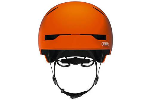 Шолом велосипедний ABUS SCRAPER 3.0 L 57-62 Signal Orange, фото 2