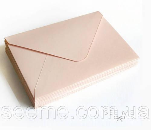 Конверт 175x125 мм, колір нюд (nude)