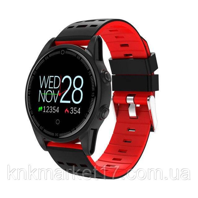 Фітнес-браслет (трекер) smart band R13 Red (пульс, тиск, кисень)