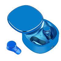 Беспроводные наушники Samsung Самсунг TWS06 Blue Синие с шумоподавлением для IOS, Mac OS, Windows, Android
