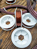 Проволока Алюминий Коричневый 0.5 мм - 10 метров для бисера