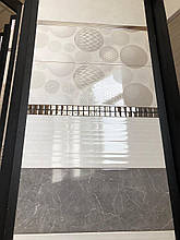 Коллекция Пальмира светло-серая (Palmira) 23*60