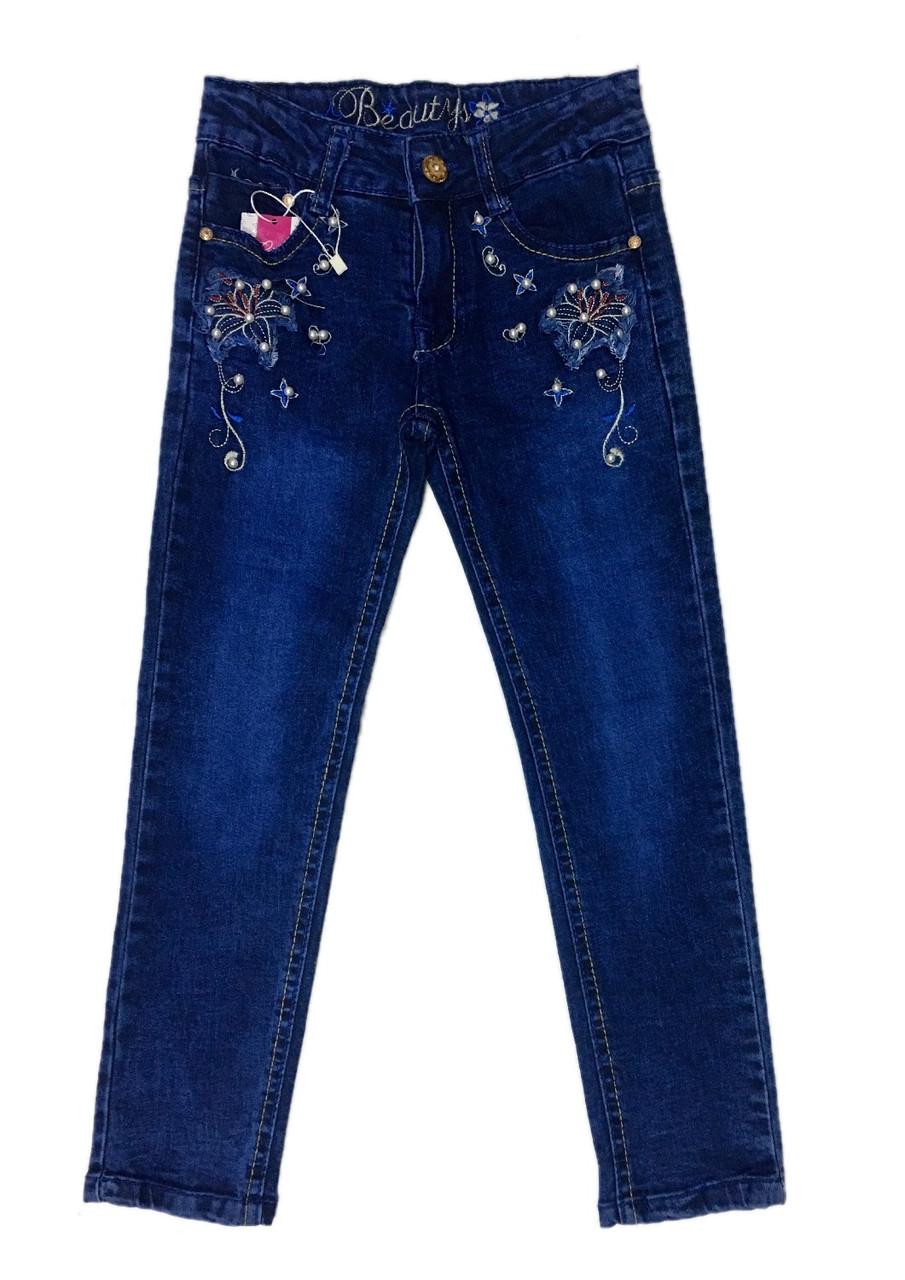 Детские джинсы для девочек, 122см