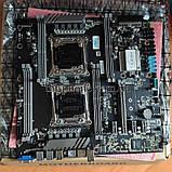 Комплект 2*2678v3 24 24 ядра JINGSHA X99-DUAL-D8 NVME M. 2 SSD DDR4, фото 6
