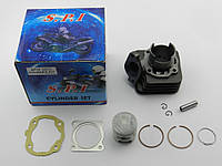 Цилиндр (в сборе) Honda Tact AF-16/09, 65cc, SPI/SEE (Тайвань)