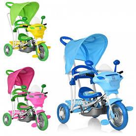 Велосипед Bambi  B3-9/6012 три колеса, голубой