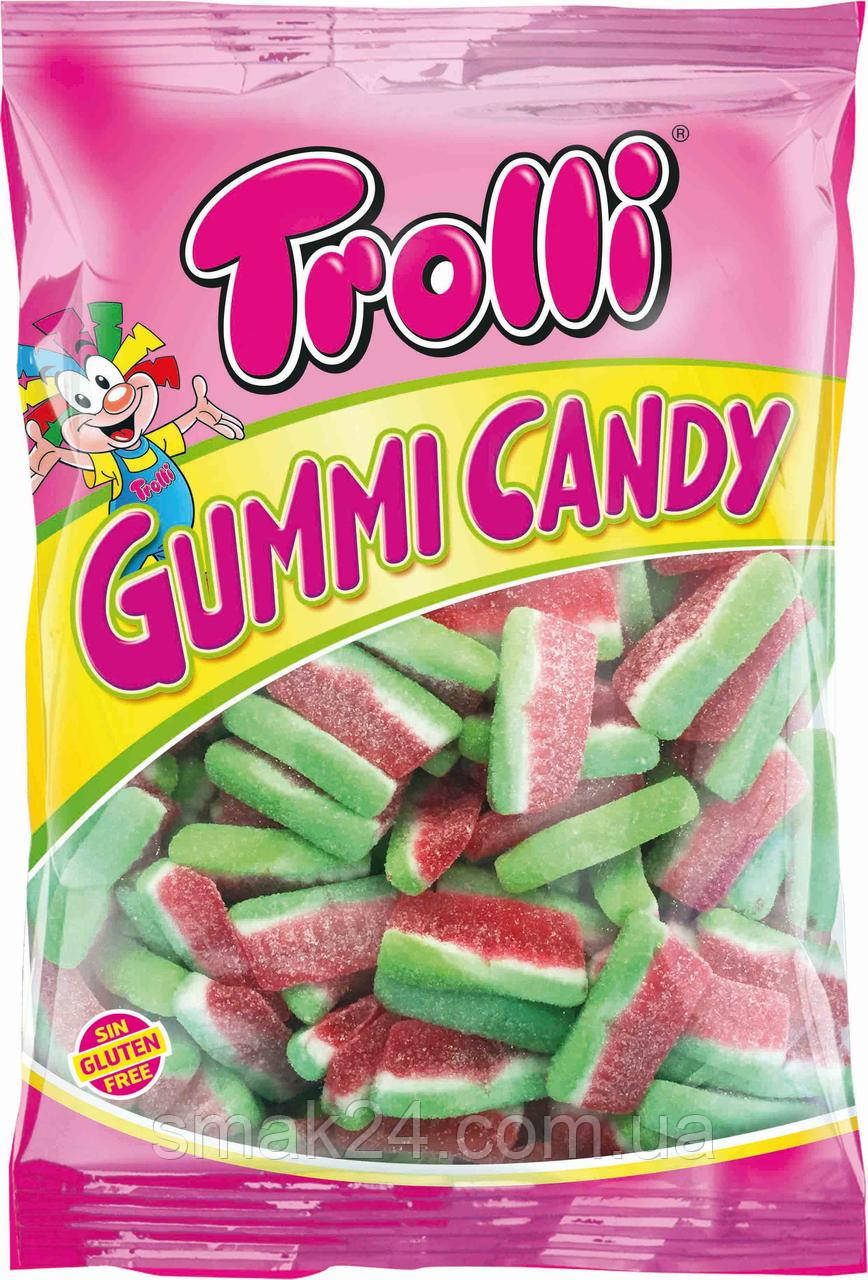 Желейные конфеты без глютена Trolli Морские арбуз Германия 1кг