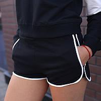 Шорты женские черные бренд ТУР модель Бонни (Boney) размер S,M,L, фото 1