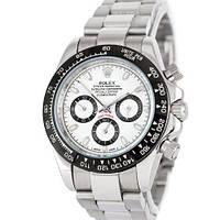 Механічні чоловічі годинники Rolex Cosmograph Daytona AAA Silver-Black-White-Black ( AAA )