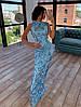 Платье в пол облегающее из сетки расшитой пайетками, верх без рукава 66mpl1430Е