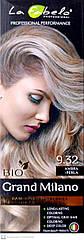 Крем-краска для волос La Fabelo №9.32 Песочный светло-русый Янтарная Жемчужина Италия 100 ml