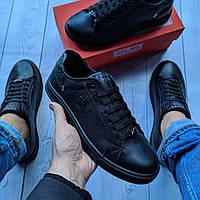Кеды кожаные мужские черные Philipp Plein размер 40, 41, 42, 43, 44, 45, фото 1