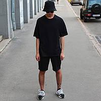 Футболка чоловіча чорна Quil (Квил) бренд Тур розмір XS, S, M, L, XL, фото 1