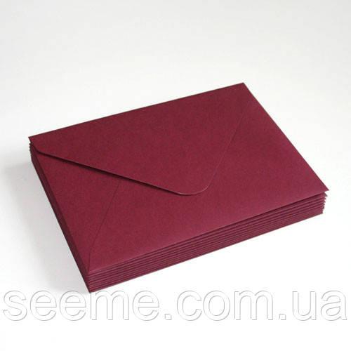 Конверт 175x125 мм, цвет палисандр
