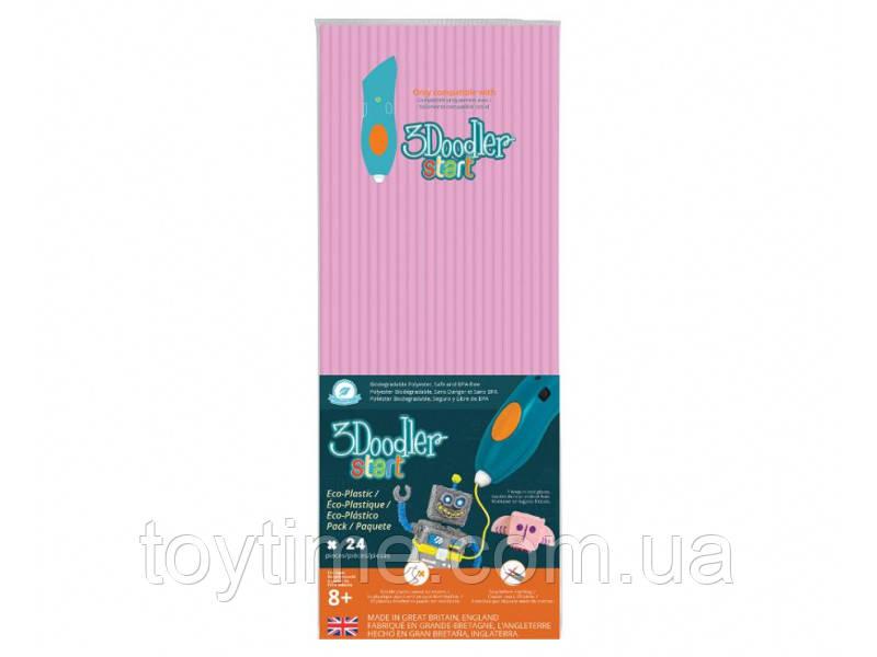 Стержни для 3D-ручки 3Doodler Start Пастельно-розовый / Пластик  для 3Д ручки 3Дудлер Старт розовый