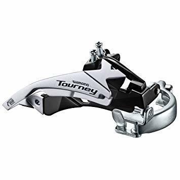 Перемикач передній Shimano Tourney FD-TY500 Top Swing / Dual Pull 3x7 spd - 42T