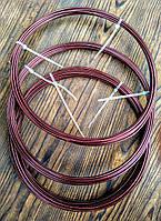 Проволока Алюминий Коричневый 2.0 мм - 10 метров для бижутерии, фото 1