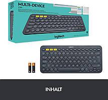 Клавиатура с немецкой раскладкой Logitech Multi-Device K380, фото 2