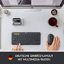 Клавиатура с немецкой раскладкой Logitech Multi-Device K380, фото 3