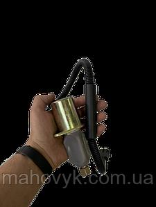 612600180175 Электроклапан на WD615 (глушилка, 3-х контактная, 24V) к ТНВД