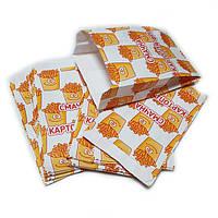 Пакет для картошки фри Смайлик порция до 250г (500шт)