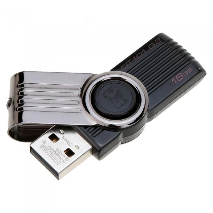 Флешка  USB 2.0 Kingston DataTravelet 101 16b