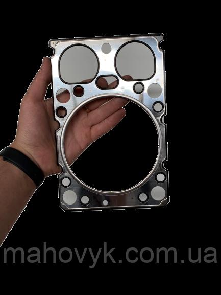 612600040355 Прокладка ГБЦ WD615 (металева)