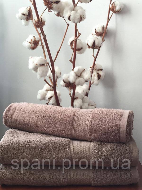 Махровое полотенце 50х100, 100% хлопок 550 гр/м2, Пакистан, Песочный