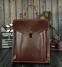 Рюкзак женский городской, кожаный качественный рюкзак-сумка для женщин