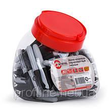 Мини-маркеры перманентные черные, L= 93мм, 80 шт/упак. KT-5010, фото 2
