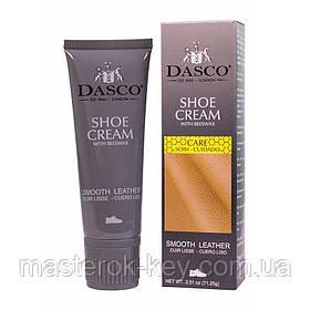 Крем-фарба для взуття DASCO Leather Cream 75 мл колір темно-синій (163)
