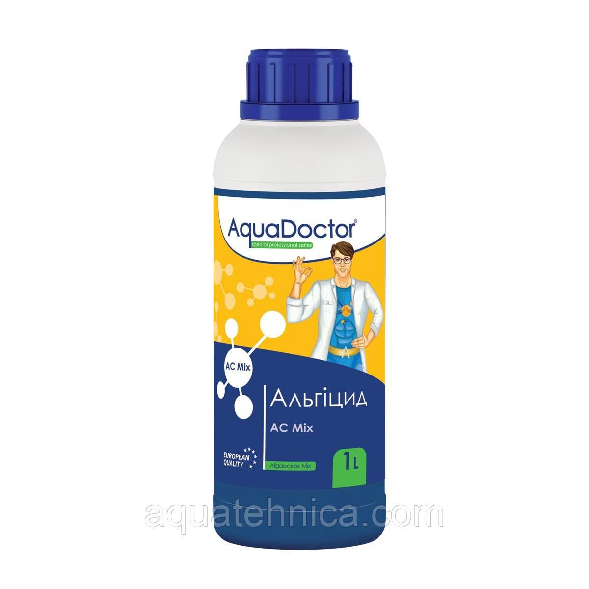 Альгіцид Aquadoctor AC mix 1 літр засіб проти водоростей для басейну