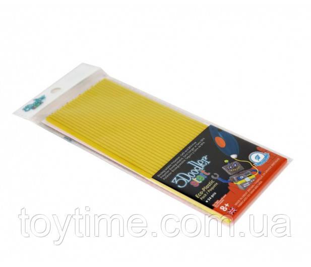 Стержни для 3D-ручки 3Doodler Start Желтые / Пластик  для 3Д ручки 3Дудлер Старт желтый