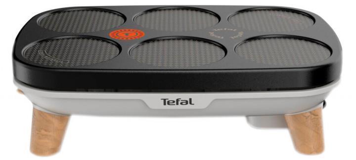 Млинниця Tefal PY900D12 1100 Вт Чорний/ Сріблястий