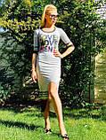 Силуэтное, моделирующее фигуру, стильное платье, фото 2
