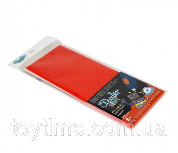 Набор стержней для 3d-ручки 3Doodler Start Красный / Пластик для 3Д ручки 3Дудлер Старт красный  - стержни