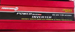 Преобразователь инвертор PowerOne 24V-220V 2000W LED дисплей