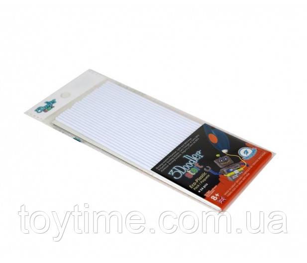 Набор стержней для 3d-ручки 3Doodler Start Белый/ Пластик для 3Д ручки 3Дудлер Старт белый - стержни
