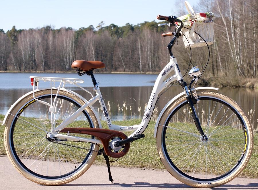 Міський велосипед LAVIDA Orlando 28 Nexus 3 Cream