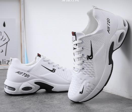 Кросівки білі в стилі Nike air max