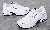 Кросівки білі в стилі Nike air max, фото 4